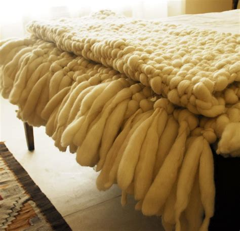 how to knit a large blanket chunky knit throw images