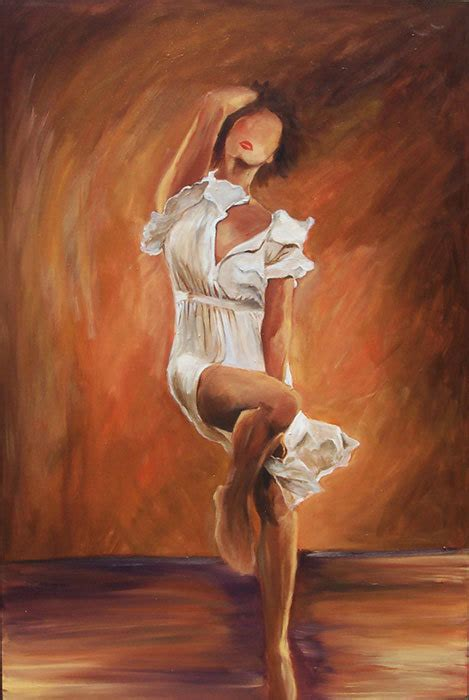 acrylic painting dress in white dress painting limited edition canvas
