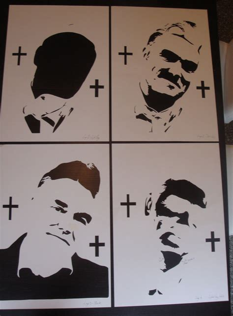 spray paint stencils morrissey stencils ready for spray paint by ramart79 on