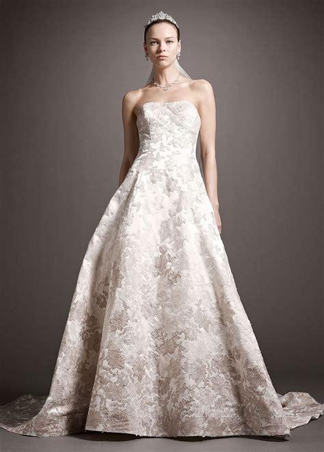 oleg cassini beaded dress oleg cassini satin gown wedding dress with ombre