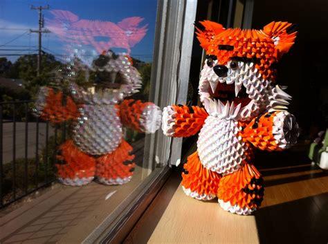 3d origami tiger 3d origami tiger roa album jaxster 3d origami