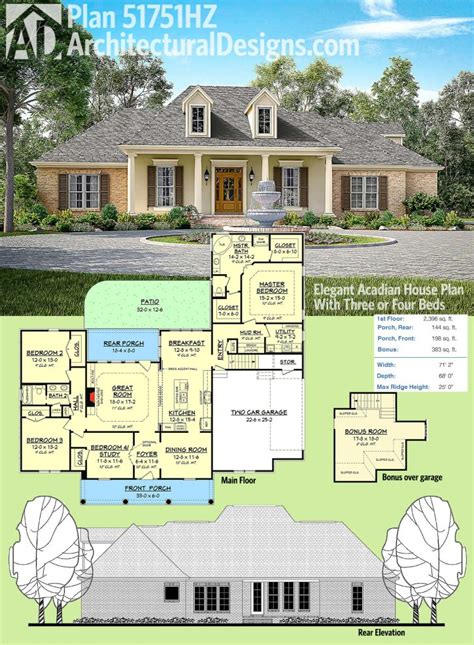 acadian style house plans with wrap around porch acadian style house plans with wrap around porch warford