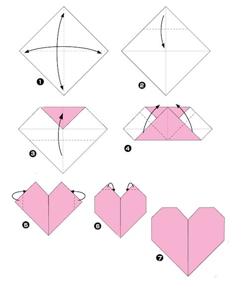 origami step by step my origami a true story layout pattern
