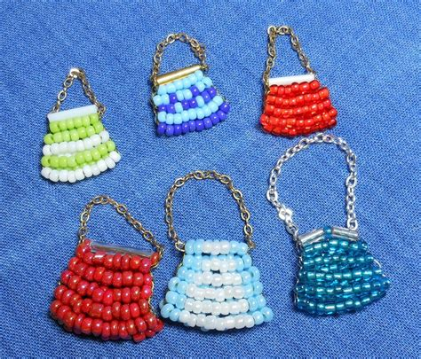 beaded purse tutorial easy beaded purse sas mini dolls