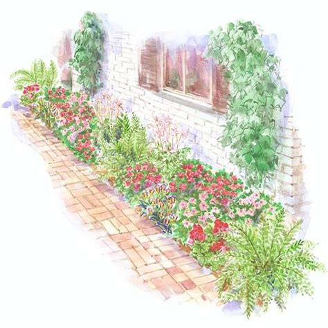 flower garden plans 17 best images about side of house ideas on