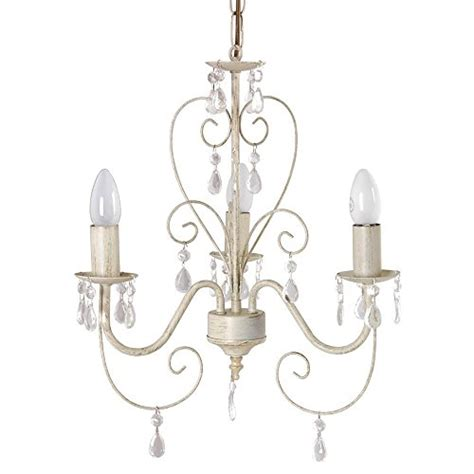 vintage style chandelier ornate vintage style shabby chic 3 way ceiling light chandelier with beautiful acrylic jewels