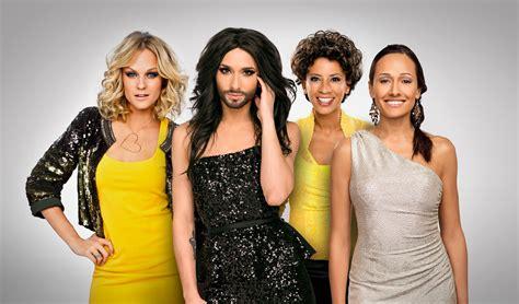 contest on tv eurovision song contest 2015 moderatoren stehen