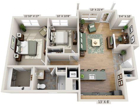 bedroom 3d design 2 bedroom house plans designs 3d artdreamshome