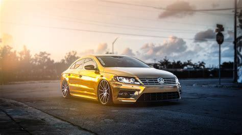 Car Wallpaper Golden by Golden Volkswagen Pasat Hd Cars 4k Wallpapers Images