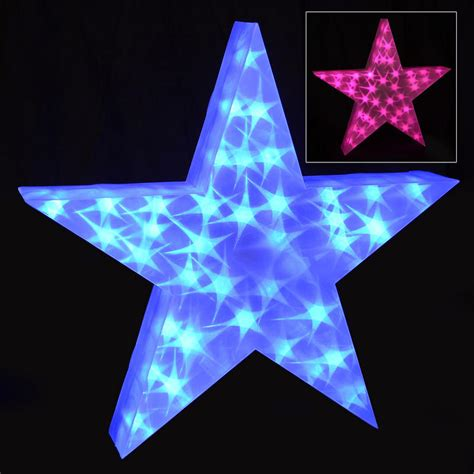 hologram decorations holographic led light up 50cm decoration