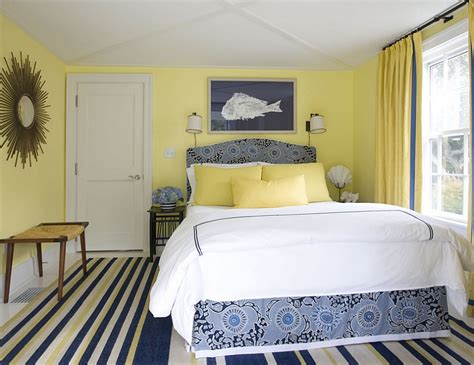 yellow walls in bedroom yellow and blue interiors living rooms bedrooms kitchens