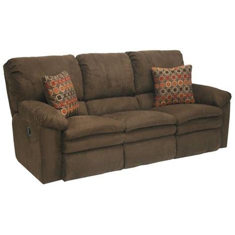 catnapper reclining sofas catnapper impulse power reclining fabric sofa in godiva