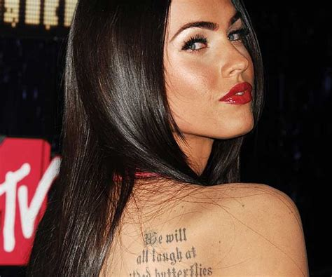 35 well renowned tattoos on celebrities