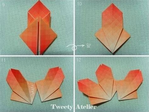 pretty origami how to make pretty paper craft origami flower
