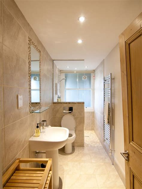 Narrow Bathroom Ideas by Best Narrow Bathroom Design Ideas Remodel Pictures Houzz