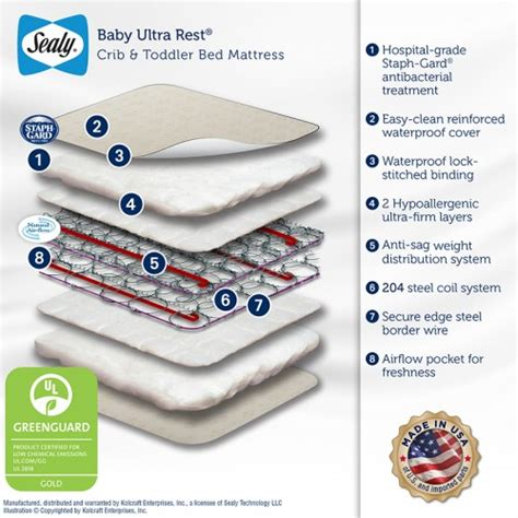 sealy baby soft ultra crib mattress sealy baby ultra rest crib mattress 28 images letgo