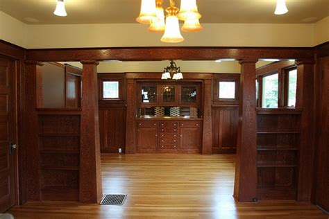 craftsman style woodwork craftsman style homes exclusive interiors with a lot of