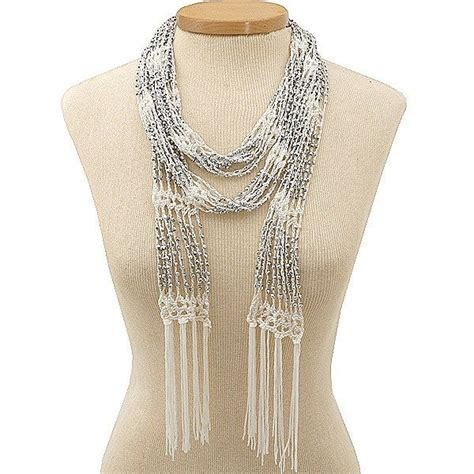beaded scarfs free crochet beaded scarf pattern beaded ivory crochet