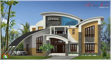 modern house styles 5800 square contemporary style house elevation