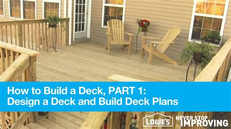 how do you build a patio how to build a deck part 1 design deck plans