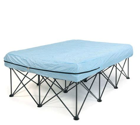 folding bed frame for air mattress portable bed frame for air filled mattresses with