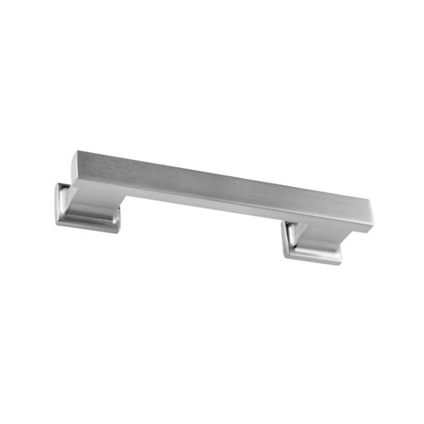 2 1 2 inch cabinet pulls shop sumner 3 1 2 in center to center satin nickel symmetry bar cabinet pull at lowes