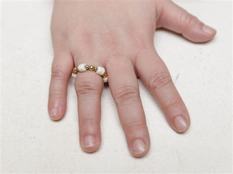 how to make a beaded ring how to make a beaded ring with pictures wikihow