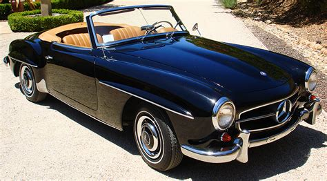 Design Engineer original 1961 mercedes 190sl classic cars today online