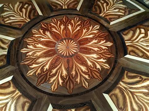 inlay woodworking tahari custom inlaid wood flooring design