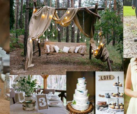 country backyard ideas backyard weddings rustic country backyard wedding ideas