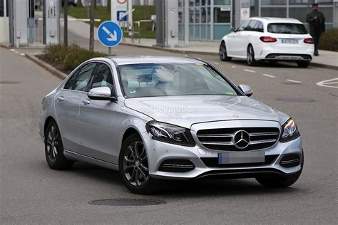 Mercedes C by 2017 Mercedes C Class Facelift Spied In Germany