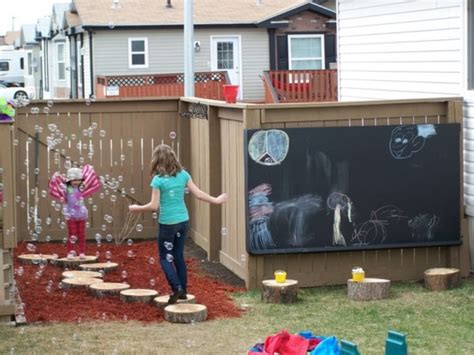 diy chalk paint outside 15 cool outdoor chalkboard walls for kidsomania