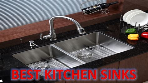 top kitchen sink faucets best kitchen sinks 2017 top 5 best stainless steel sinks