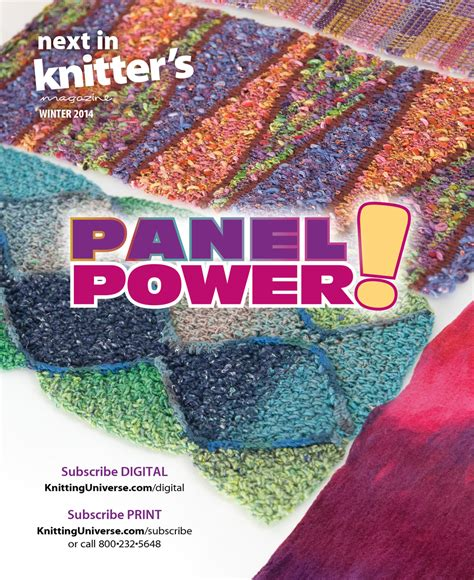 knitting universe next issue the knitting universe