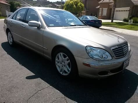 Mercedes For Sale By Owner by 2006 Mercedes S Class Sale By Owner In Temecula Ca 92590