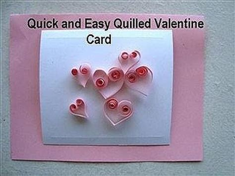 make a card from a photo card diy quilled hearts card how to