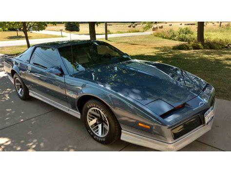 Pontiac Trans Am 1984 by 1984 Pontiac Firebird Trans Am For Sale Classiccars