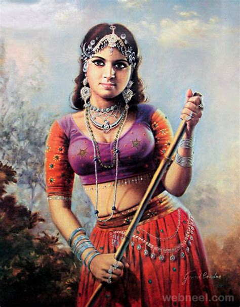 50 Most Beautiful Indian Paintings From Top Artists For