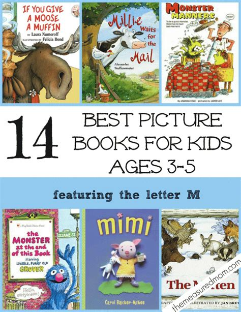 picture book activities 14 of the best picture books for ages 3 5 a letter m