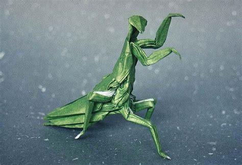 origami mantis prayingmantis
