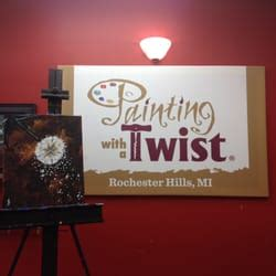 paint with a twist rochester mi painting with a twist 3320 rochester rd 23 photos