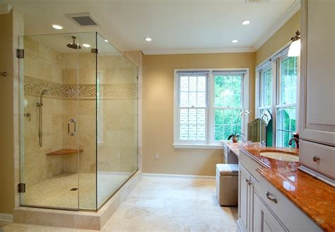 shower door molding shower crown molding bathroom traditional with gold faucet