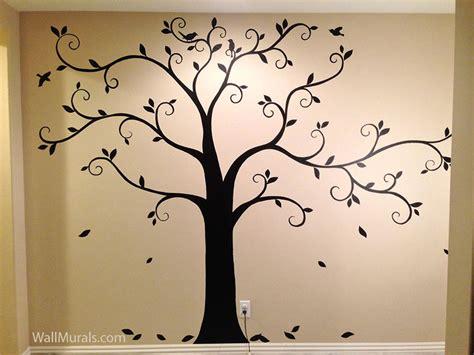 painting wall murals tree wall murals 50 painted tree wall mural