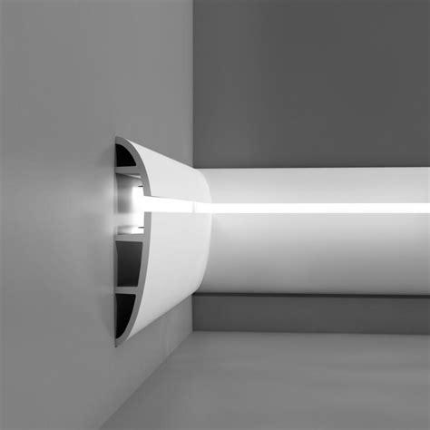 corniche moulure de plafond axxent orac decor pour eclairage indirect c374 luminaire