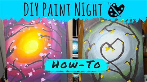 paint nite diy diy paint