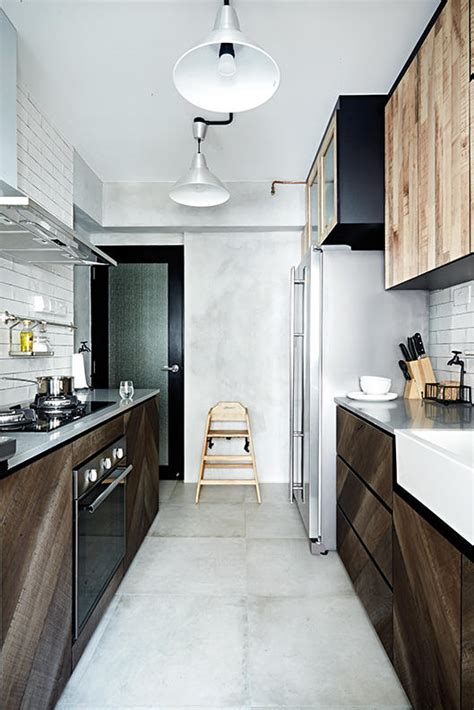 Design Ideas For Galley Kitchens kitchen design ideas 8 stylish and practical hdb flat