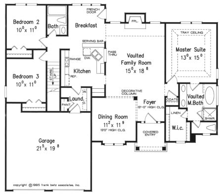single story floor plan homes floor plans