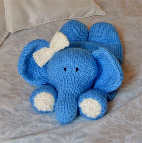 knitted elephant free pattern elephant pyjama knitting pattern knitting by post
