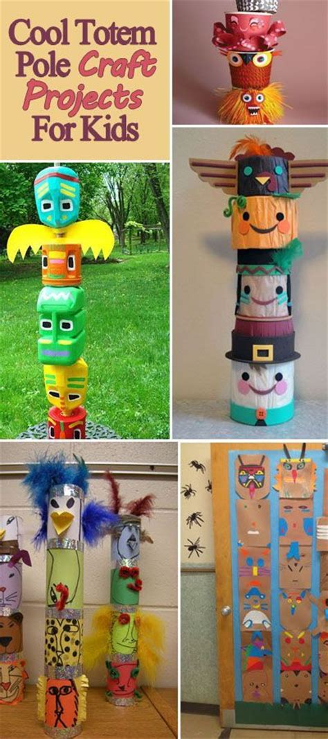 totem pole craft for 25 best ideas about totem pole craft on totem
