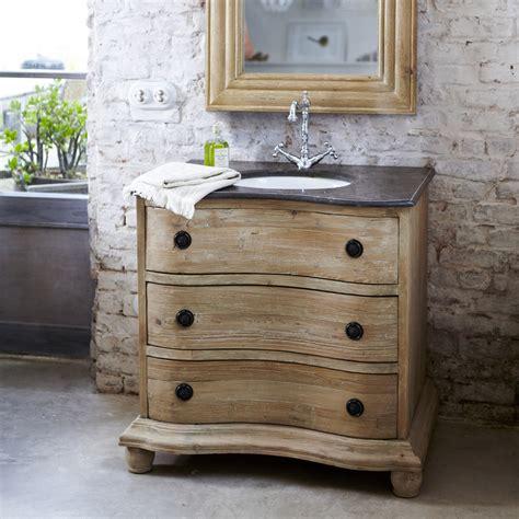 meuble simple vasque en pin meublesen pin hermione tikamoon